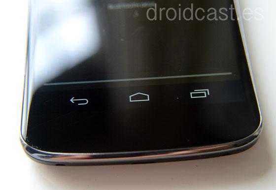 Botones virtuales Nexus 4