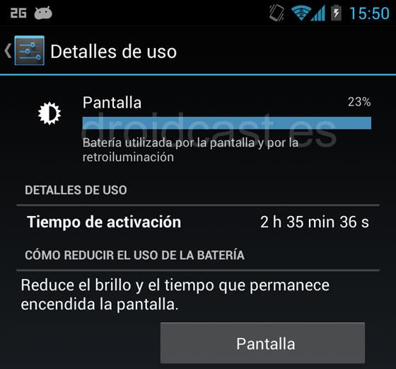 Pantalla Nexus 4