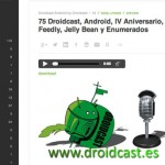 Droidcast Feedly
