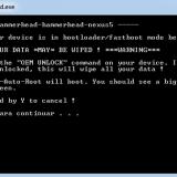 Acceso root en Lollipop en Nexus 5